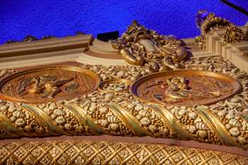 Orpheum Theatre, Phoenix: Proscenium Medallions from below