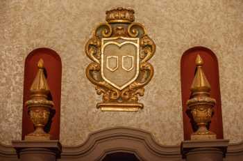 Orpheum Theatre, Phoenix: Detail Below Organ Chamber