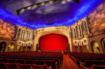 Orpheum Theatre, Phoenix: Auditorium from House Right Aisle