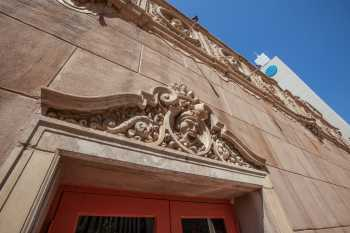 Orpheum Theatre, Phoenix: Door Pediment and Side Wall