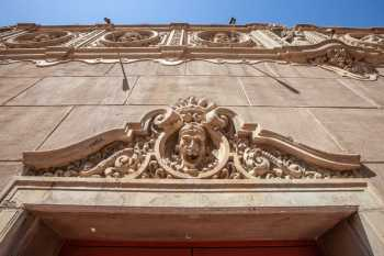 Orpheum Theatre, Phoenix: Pediment Closeup
