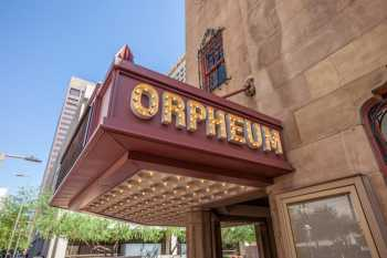 Orpheum Theatre, Phoenix: Marquee over Main Entrance