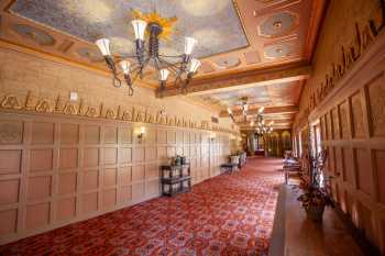 Orpheum Theatre, Phoenix: Mezzanine Promenade from House Left