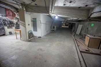 Plenum Underneath Auditorium, House Right side
