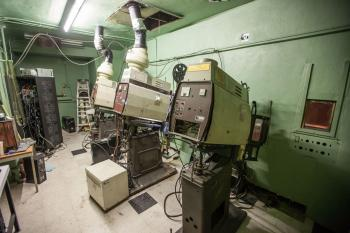 Projection Booth interior
