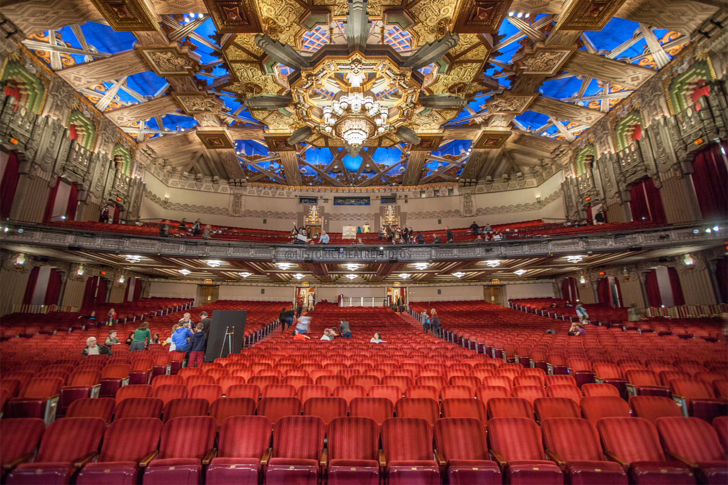 Pantages Theatre, Hollywood - Historic Theatre Photography