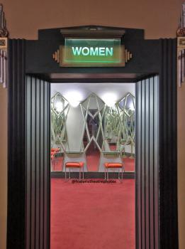Ladies Lounge Entrance