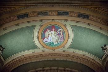 Proscenium sounding board closeup