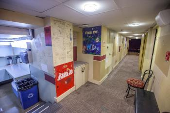 Dressing Room Corridor in Basement