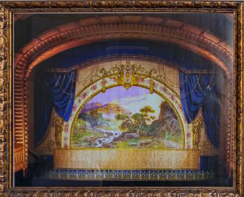 Photo of 1915 Fire Curtain