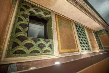 Pasadena Civic Auditorium: Booth window in Balcony rear wall