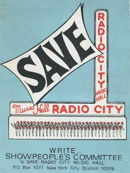 Save Radio City Music Hall