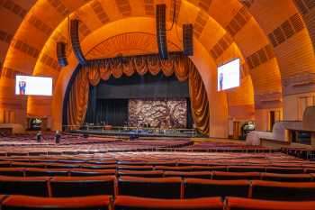 Radio City Music Hall, New York: Stage from Orchestra House Right