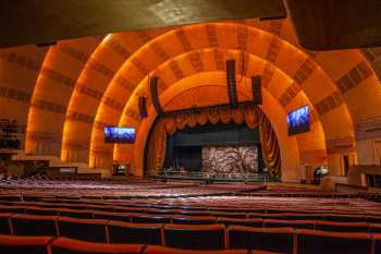 Radio City Music Hall, New York: Stage from Rear Orchestra Seating