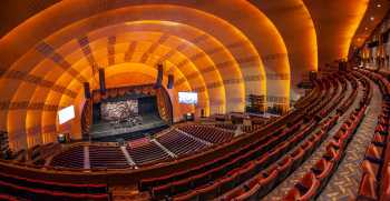 Radio City Music Hall, New York: Third Mezzanine Panorama, from House Left