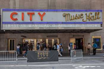 Radio City Music Hall, New York: North Side at street level
