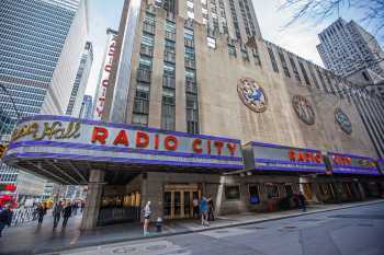 Radio City Music Hall, New York: South Facade