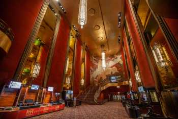 Radio City Music Hall, New York: Grand Foyer from East side