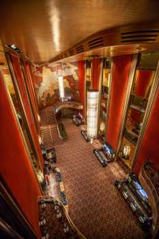 Radio City Music Hall, New York: Grand Foyer from Third Mezzanine