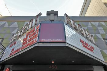 Marquee from center