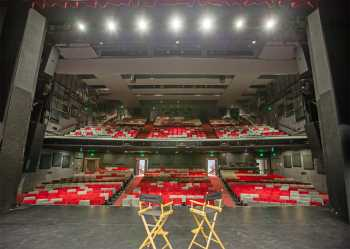 Ricardo Montalbán Theatre, Hollywood: Auditorium from Stage