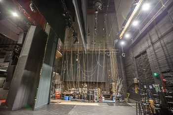 Ricardo Montalbán Theatre, Hollywood: Stage from Stage Left