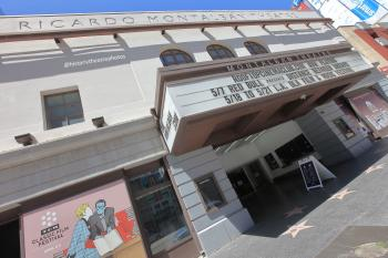 Ricardo Montalbán Theatre, Hollywood: Façade and Marquee
