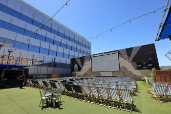 Ricardo Montalbán Theatre, Hollywood: Rooftop Cinema