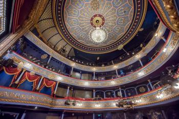 Royal Lyceum Theatre Edinburgh: Ceiling from Stalls left