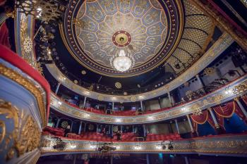 Royal Lyceum Theatre Edinburgh: Ceiling from Stalls right
