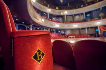 Royal Lyceum Theatre Edinburgh: Seat closeup