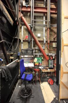 Royal Lyceum Theatre Edinburgh: Prompt Corner (Stage Left)