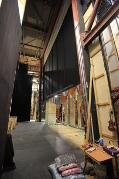 Royal Lyceum Theatre Edinburgh: Rear Scene Dock from Stage Right