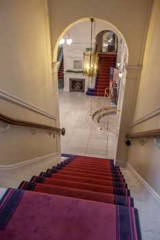 Royal Lyceum Theatre Edinburgh: Upper Circle Stairs from Inner Lobby
