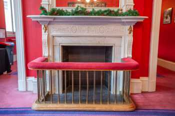 Royal Lyceum Theatre Edinburgh: Fireplace closeup