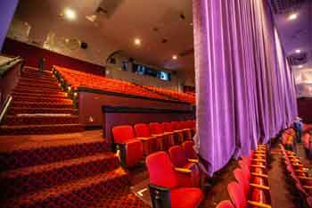 Saban Theatre, Beverly Hills: Upper Balcony, behind divider curtain