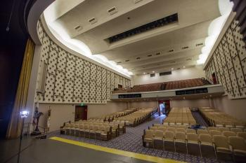 Auditorium from Stage Right Forestage
