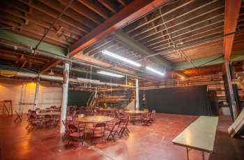 Shrine Auditorium, N. University Park: Trap Room looking to Stage Right