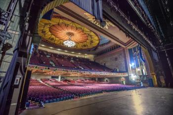 Shrine Auditorium, N. University Park: Stage and Auditorium from Downstage Left
