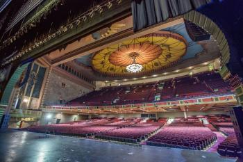 Shrine Auditorium, N. University Park: Stage and Auditorium from Downstage Right