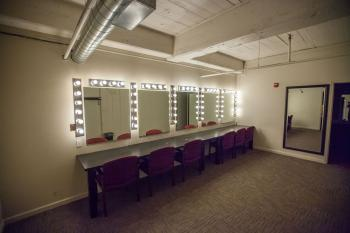 Stateside at the Paramount, Austin: Dressing Room