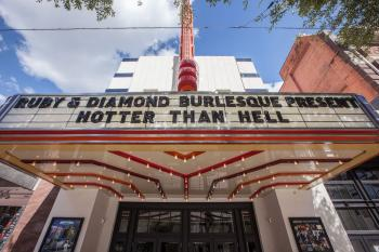 Stateside at the Paramount, Austin: Marquee and Readerboard from below