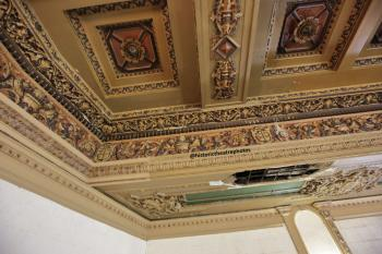 Balcony rear left ceiling detail