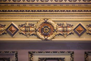 Decorative ceiling frieze