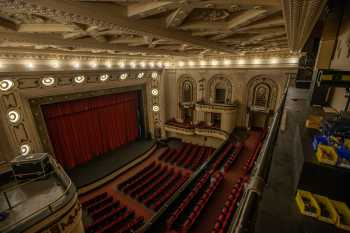 Studebaker Theater: Stage from Balcony Left