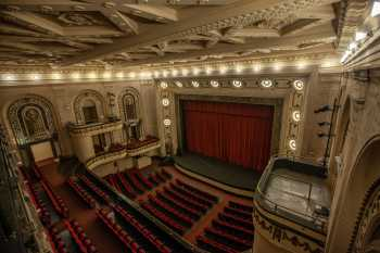 Studebaker Theater: Stage from Balcony Right