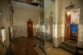 Studebaker Theater: Projection Booth and access door