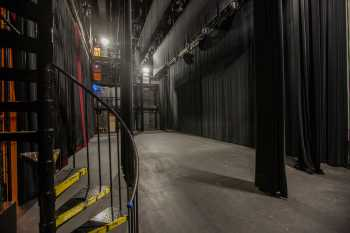 Studebaker Theater: Stairs in Downstage Left Wing