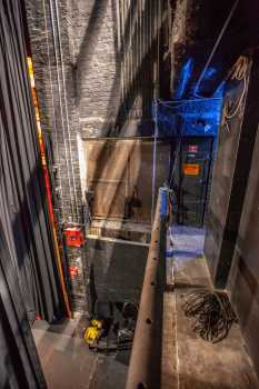 Studebaker Theater: Downstage Right from Stage Right Pin Rail