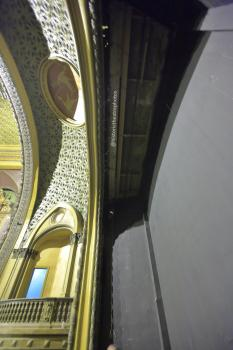 Tower Theatre, Los Angeles: Stage ceiling